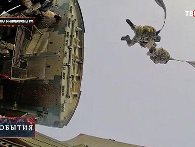 Российские десантники прибыли на Северный полюс