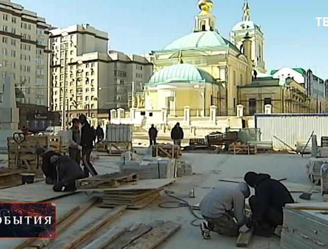 Строительство храма в честь Преображения Господня