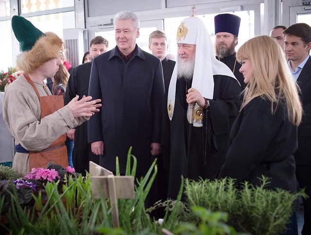 """Посещение фестиваля """"Пасхальный дар"""""""
