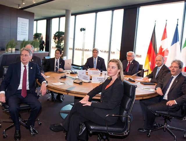 Министры иностранных дел стран G7