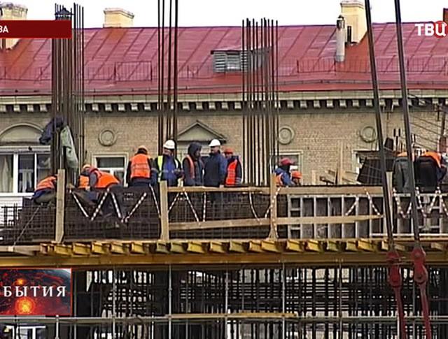 Строительство стадиона ЦСКА