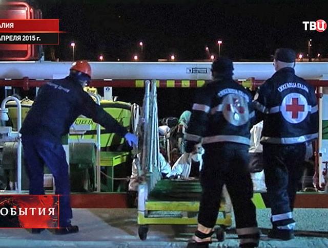 Спасательная операция в Италии