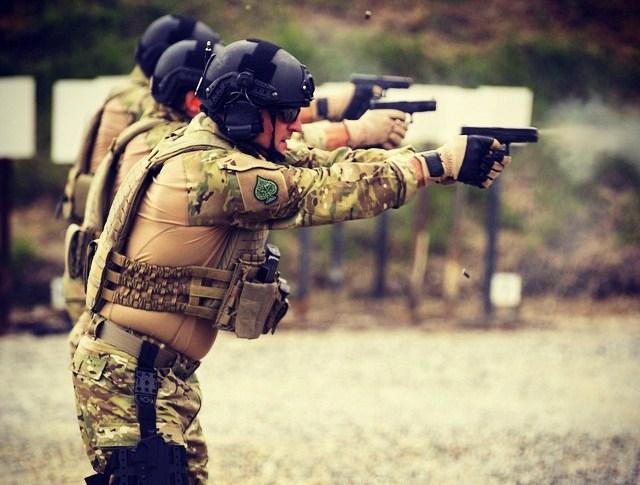 Бойцы частной военной компании Academi