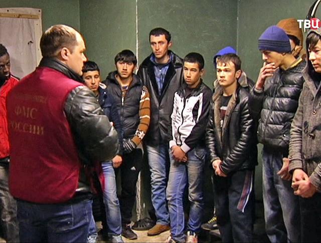 Инспекторы ФМС задержали нелегальных мигрантов