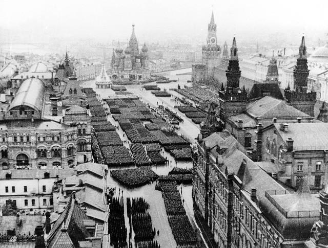 Парад Победы 1945 года на Красной площади