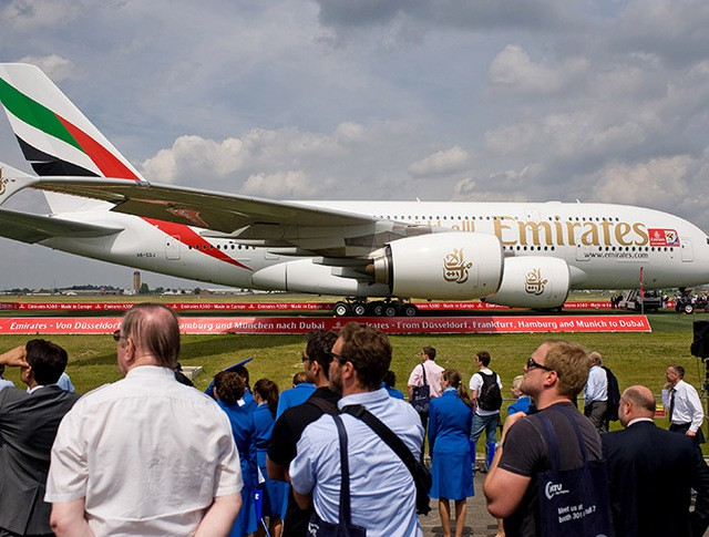 Пассажирский лайнер Airbus A380