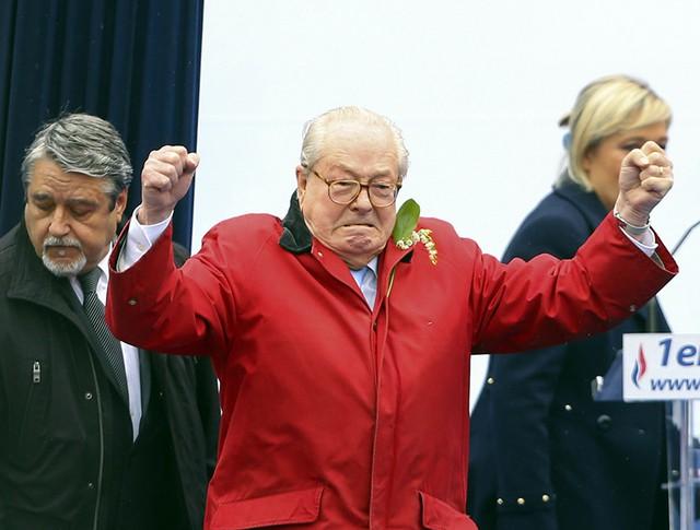 """Основатель ультраправого """"Национального фронта"""" Жан-Мари Ле Пен"""