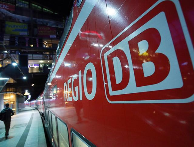 Поезд regio DB