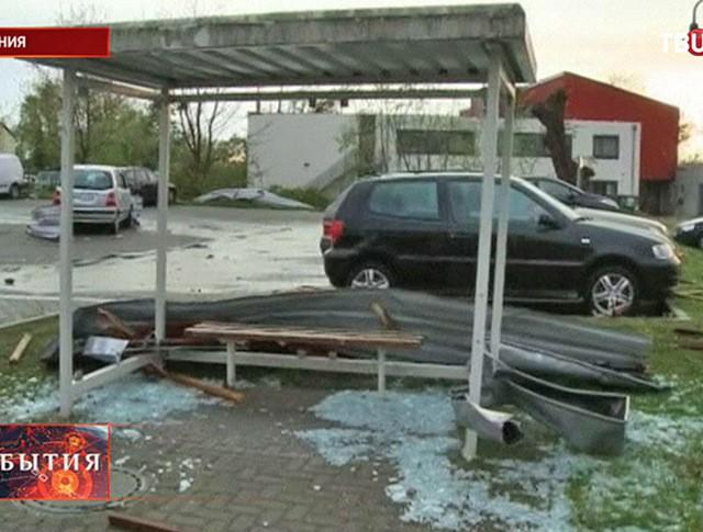 Последствия циклона в Германии