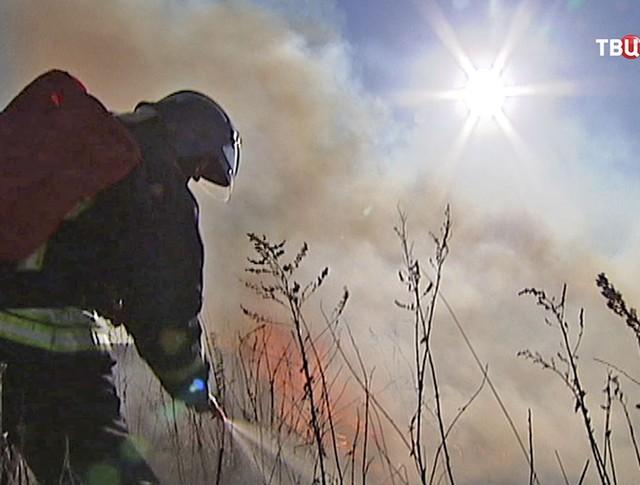 Борьба со степными пожарами