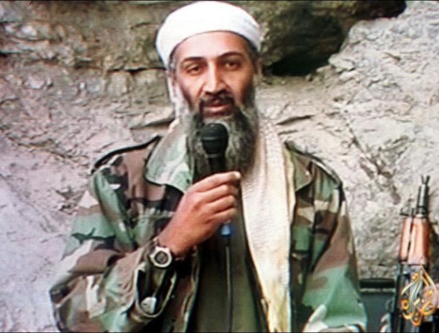 """Главарь """"Аль-Каиды"""" и """"террорист номер один"""" Усама бен Ладен"""