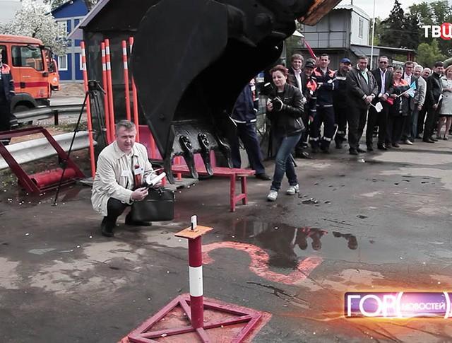 """Конкурс """"Московские мастера"""" среди поваров и эскваторщиков"""