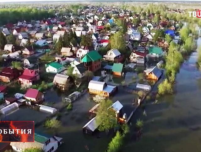 Паводок в Омской области