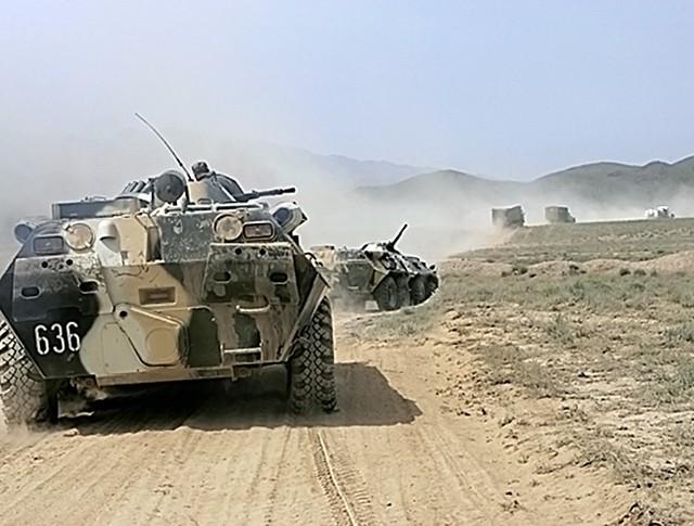 Военные Таджикистана