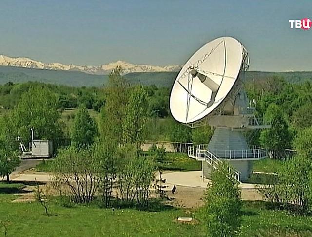 Радиотелескоп в Карачаево-Черкессии
