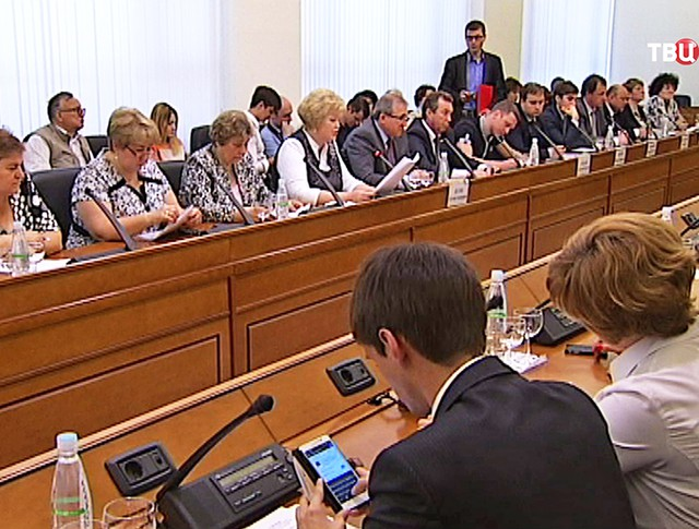 Заседание в Мосгордуме