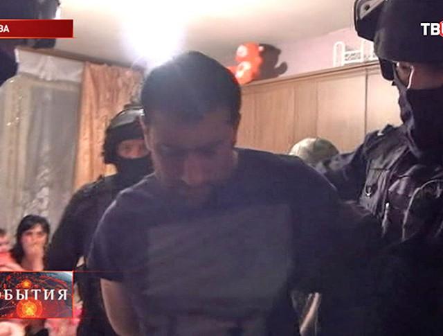 Задержанный преступник за убийство полицейского