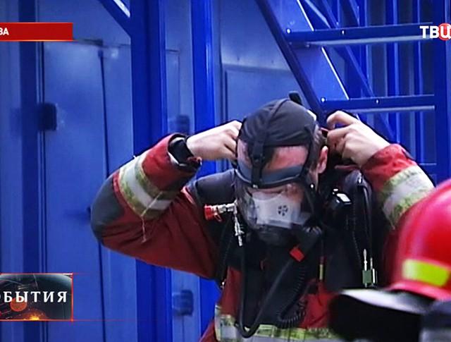 Тренировка пожарных