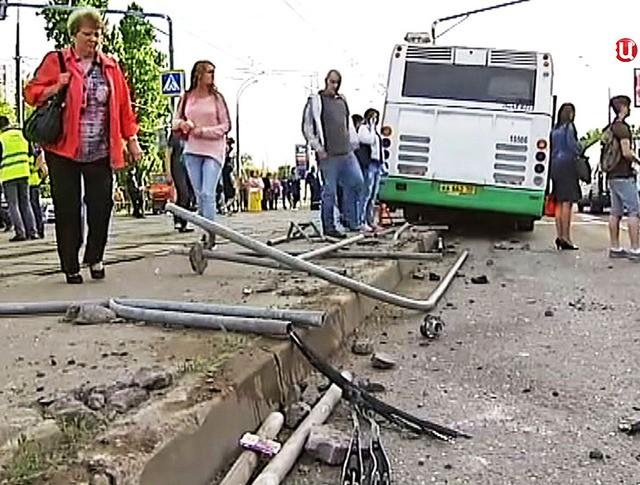 Последствия ДТП с автобусому