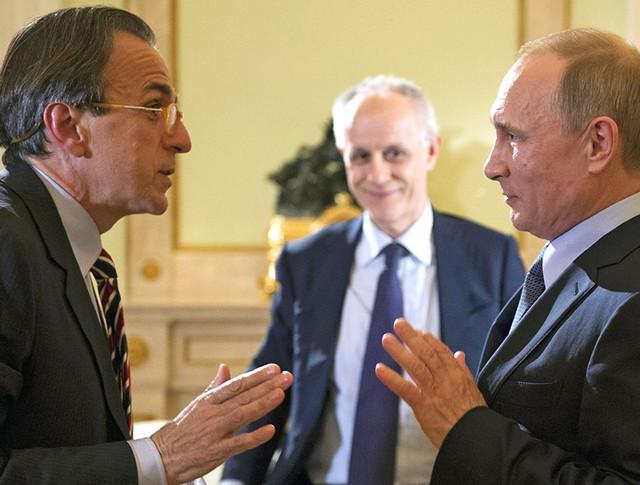 Президент России Владимир Путин дал интервью итальянской газете Il Corriere della Sera