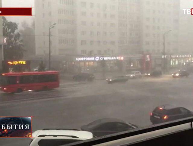 Наводнение в Перми