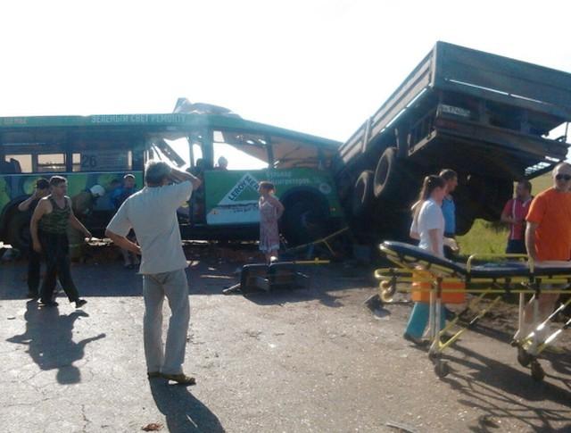 Крупное ДТП в Омской области