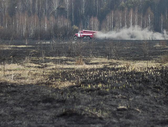 Пожар на Украине