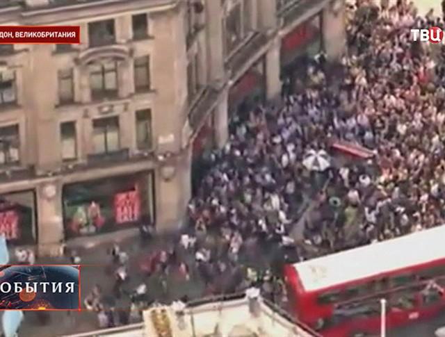 """Забастовка работников """"подземки"""" в Лондоне"""