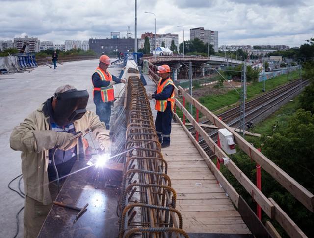 Строительство развязки на Волгоградском проспекте