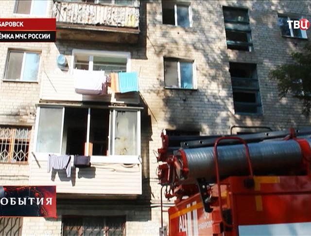 Жилой дом, где произошел взрыв газа