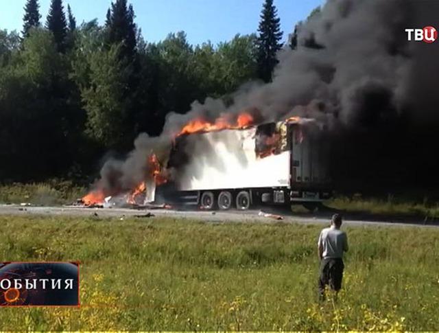 В Красноярском крае в связи с ДТП 23 июля объявлено днем траура