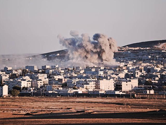Военные действия на границе с Турцией