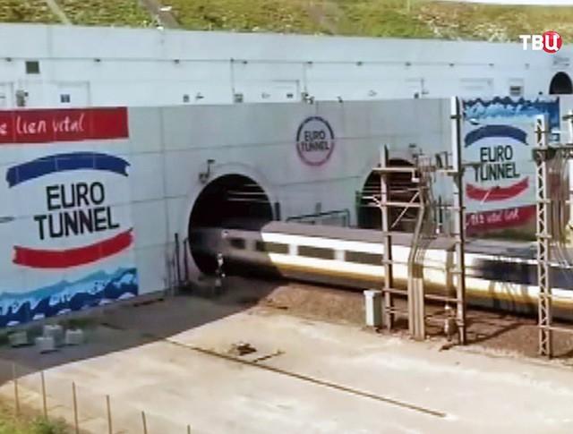 Евротоннель под проливом Ла-Манш