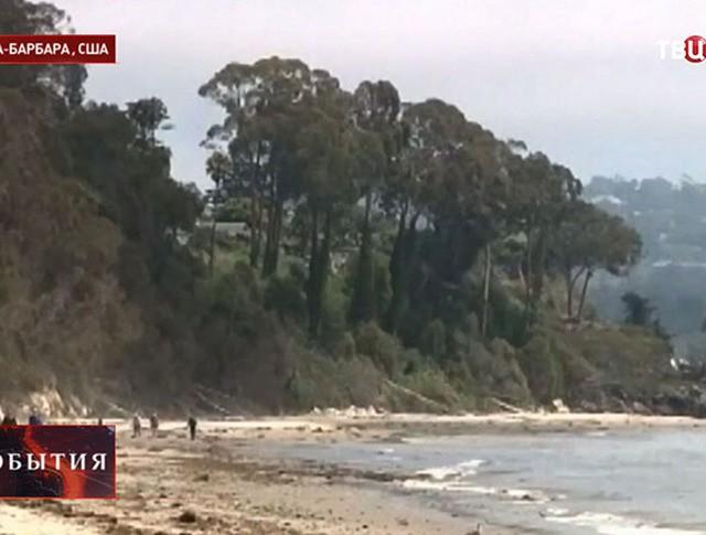 Разлив нефти в Санта-Барбаре