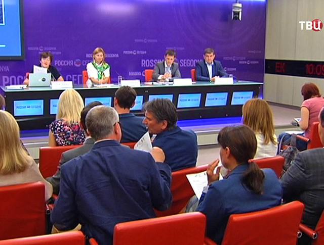 Пресс-конференция по итогам конкурса на застройку участка на Софийской набережной