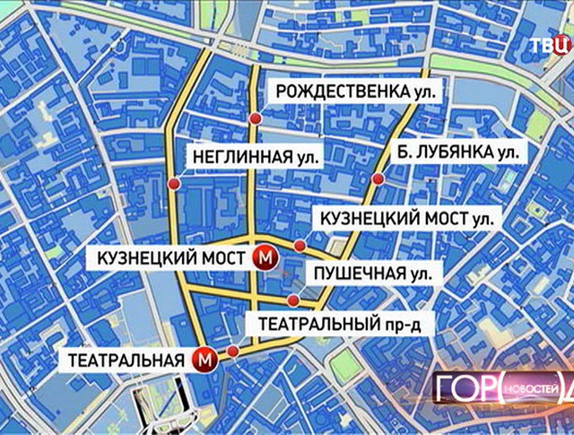Новые пешеходные зоны