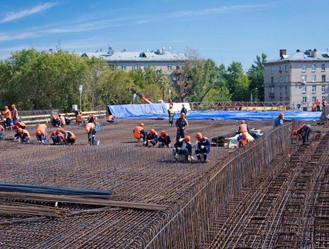 Осмотр хода реконструкции Звенигородского путепровода