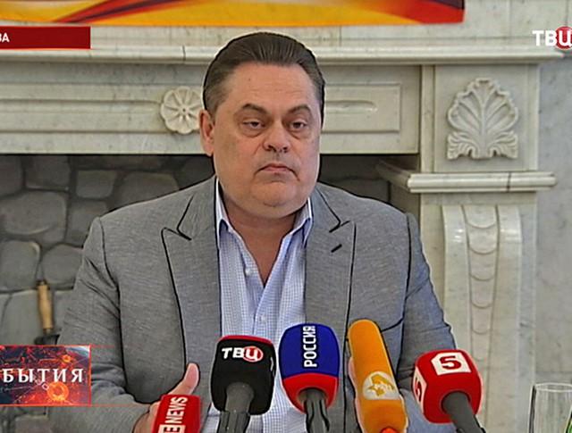 """Председатель партии """"Патриоты России"""" Геннадий Семигин"""