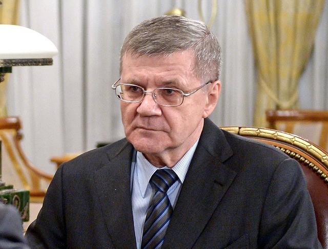 Генеральный прокурор Российской Федерации Юрий Чайка