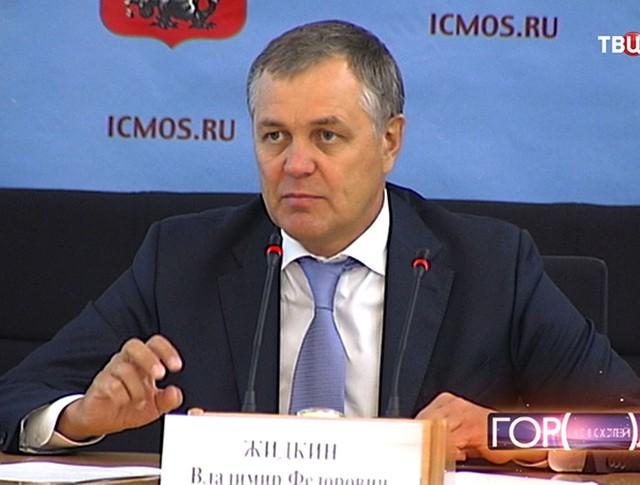 Глава столичного департамента развития новых территорий Владимир Жидкин