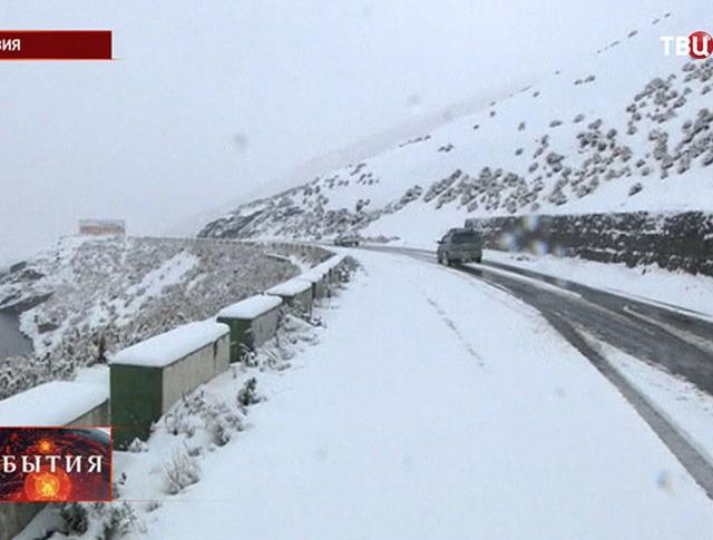 Снег в Боливии