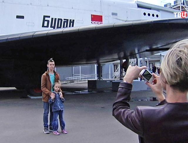 """Космический корабль """"Буран"""" на ВДНХ"""