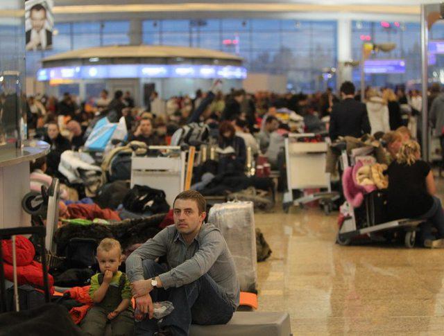 Задержка рейсов в аэропорту