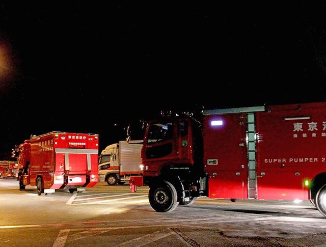 Пожарные машины в Японии