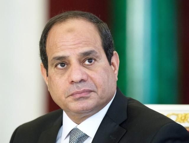 Президент Арабской Республики Египет Абдель Фатах ас-Сиси
