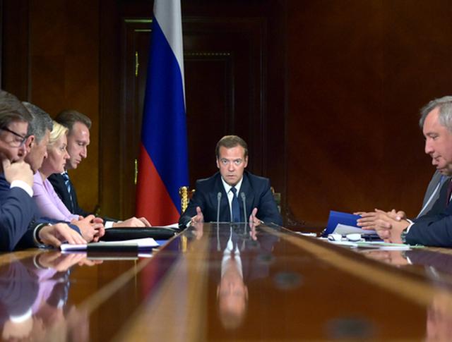Дмитрий Медведев провёл совещание с вице-премьерами