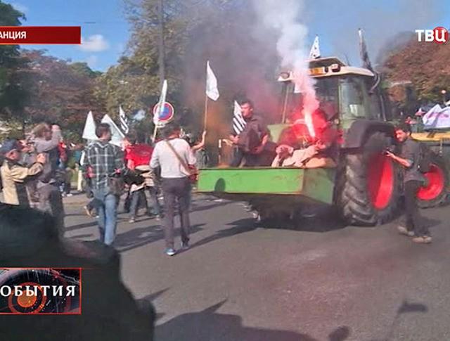 Акция протеста фермеров