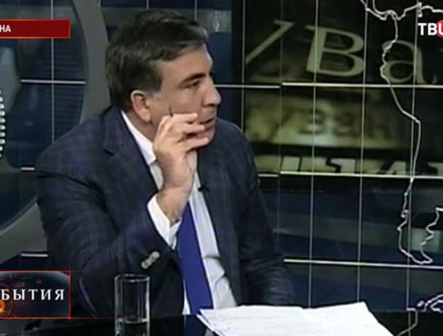 Глава Одесской областной государственной администрации Михаил Саакашвили