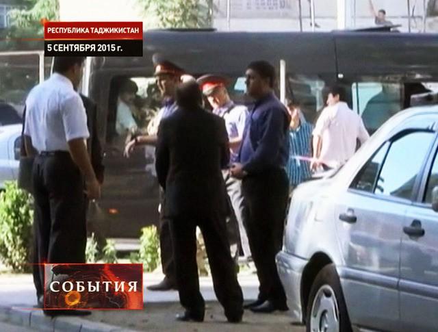 Милиция Таджикистана на месте происшествия