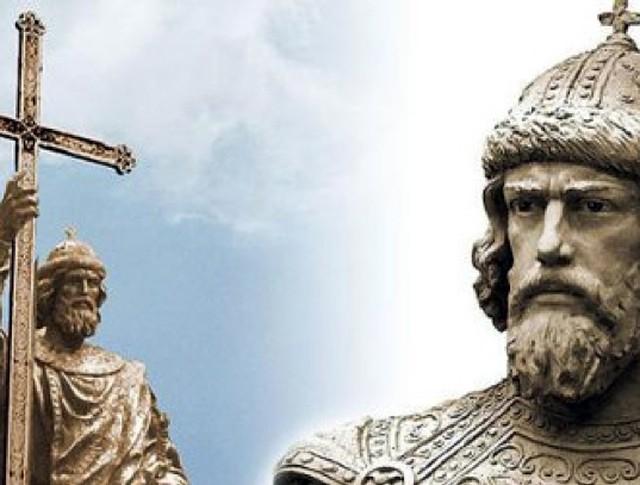 Проект памятника Святому князю Владимиру в Москве